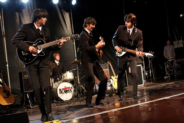 Counterfeit Beatles at the Maidstone Mela