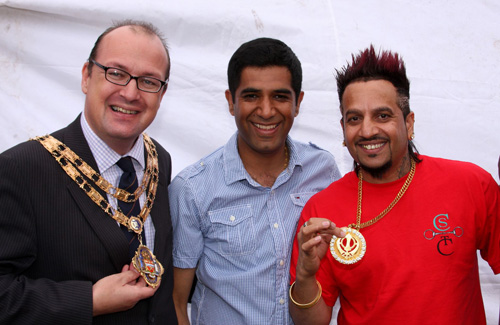 Mayor and Jazzy B