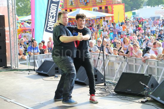 Danny and Dan Performing at the Maidstone Mela