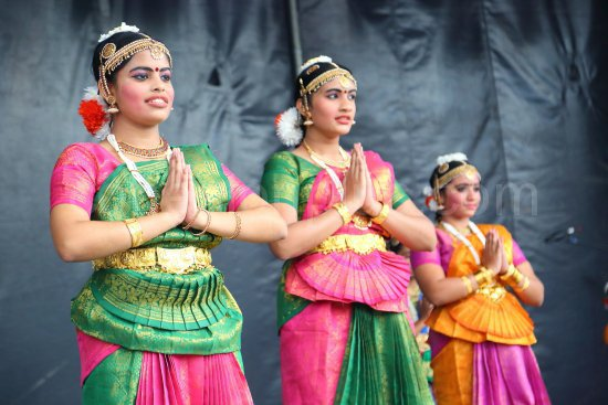 Kerala Cultural Association performing at the Mela