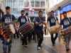 4x4 Dhol Drummers performing in the Parade